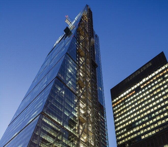 The Cheesegrater Building And Land Guarantees Ltd